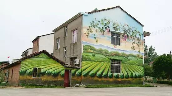 墙绘的色彩搭配,让您家与众不同