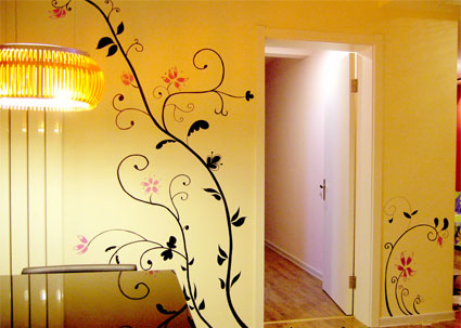 设计是墙绘的最大挑战之一 ---内容和风格