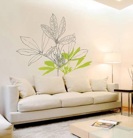 墙绘的内容和风格完全是由客户来制定和选择